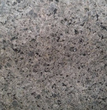 Polished flower granite slabs