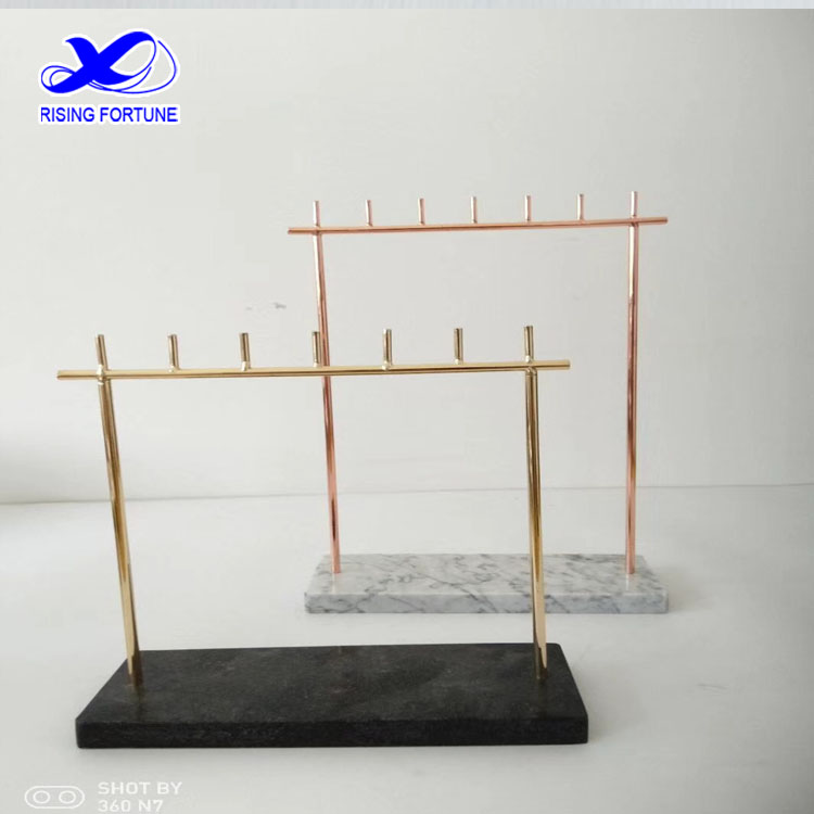 marble jewelry display stand
