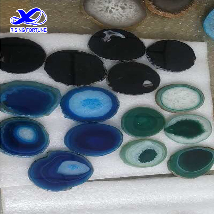 agate coaster colors