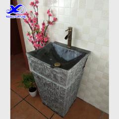 granite pedestal basin