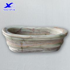 green onyx bathtub