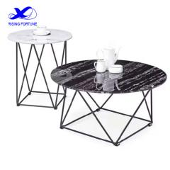 round marble top coffee table