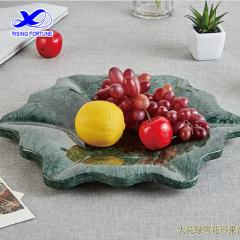 Natural marble fruit dish plate in stock