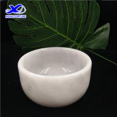 white marble tea cup