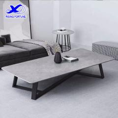 Nordic simplicity Sintered stone tea table